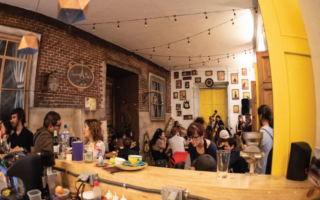 Café y jazz, ingredientes del Sucré Salé