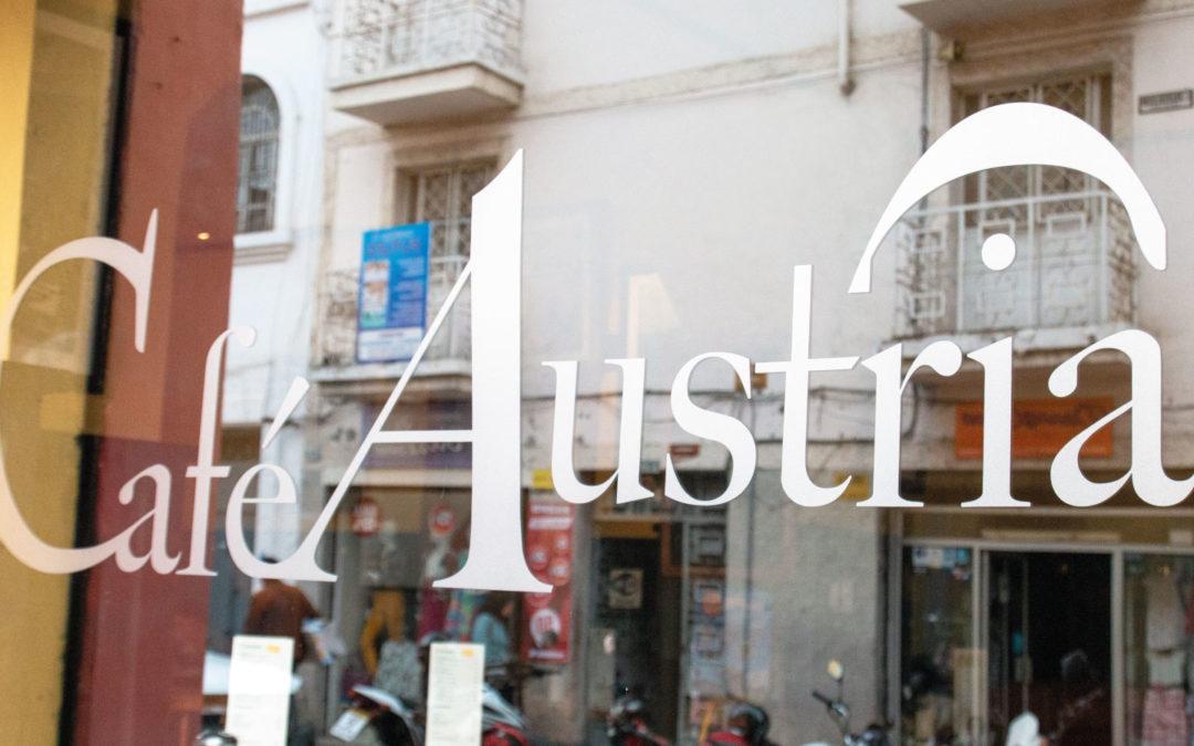 Café Austria, una pieza de Cuenca